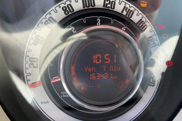 fiat 500 kilometri